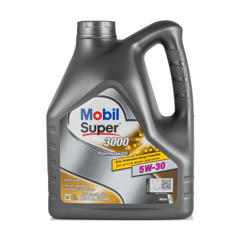 MOBIL Super 3000 X1 Formula FE 5W30, 4л