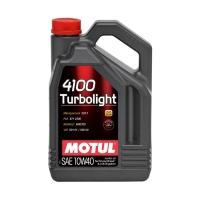 Моторное масло MOTUL 4100 Turbolight 10W40 SN/CF, 4л