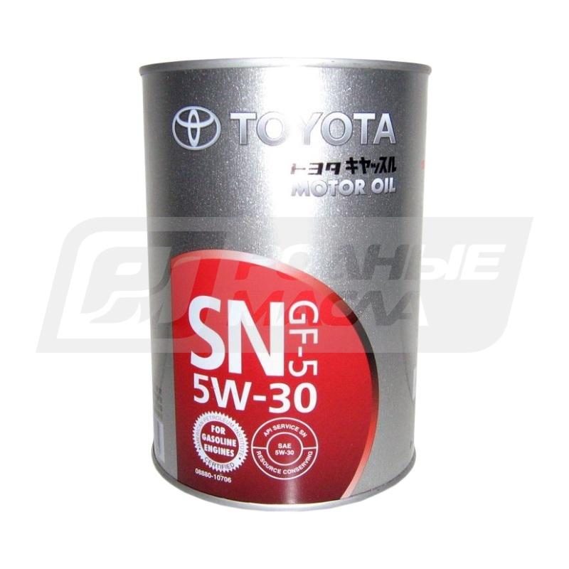 масло toyota 5w30 sn gf-5 отзывы