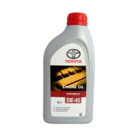 Моторное масло TOYOTA Engine Oil 5W40 SM/CF, 1л
