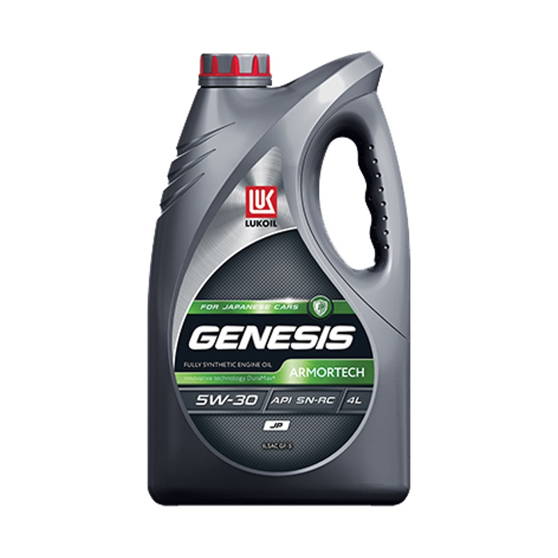 ЛУКОЙЛ Genesis Armortech JP 5W30, 4л